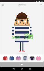 Androidify تطبيق عمل شخصيات كارتونية أندرويد Avatars - 2