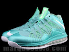 nike lebron 10 low gr green white 1 06 LEBRON X LOW, KOBE 8 and KD V   Nike Easter Collection