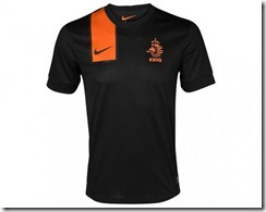 Holanda segunda equipación