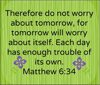 Many Waters Do Not Worry