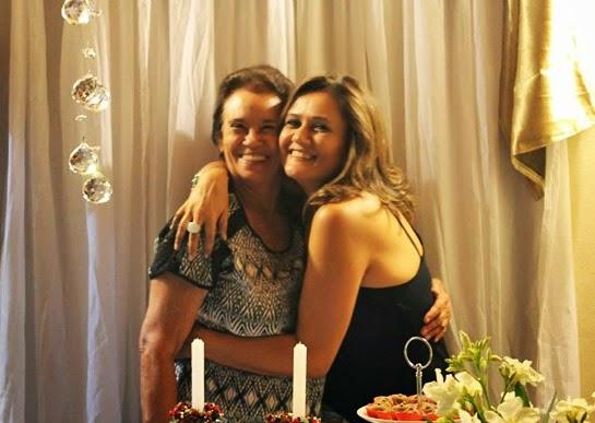 mãe e Raquel