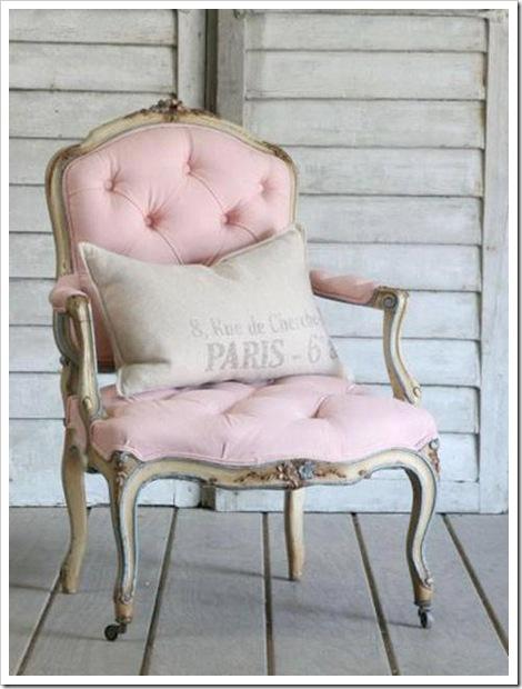 Poltrona rosa