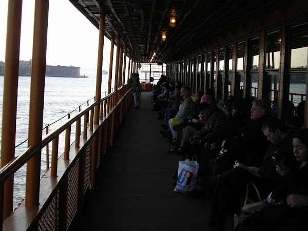 Imagini New York: ferry de Staten Island, New York