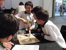 Tus Competencias en Ciencias realiza talleres en Feria del Libro Infantil y Juvenil