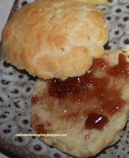 Paula Deen's Sour Cream Biscuits -served B