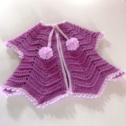 Harper's Lavender Vest