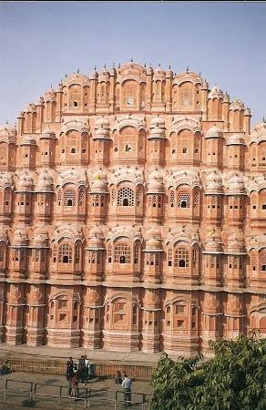 Jaipur - Palatul Vanturilor