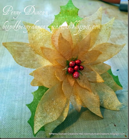 PDC Coffee Filter Poinsetta Flowers 8042012 (4)
