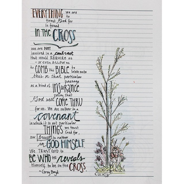 everything in the cross