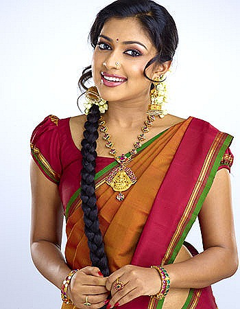 Amala Paul Saree