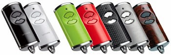 New two button hand transmitter colours from Garador