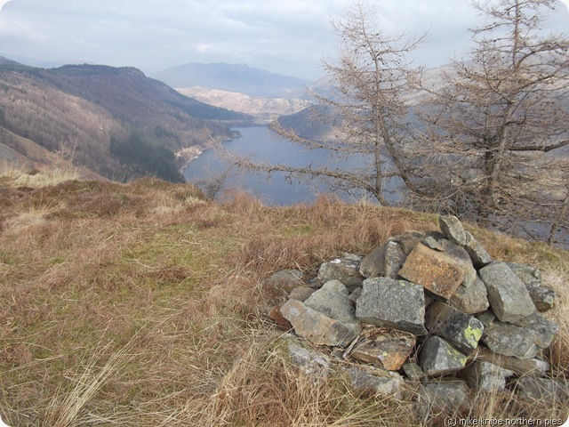 thirlmere from fisher crag