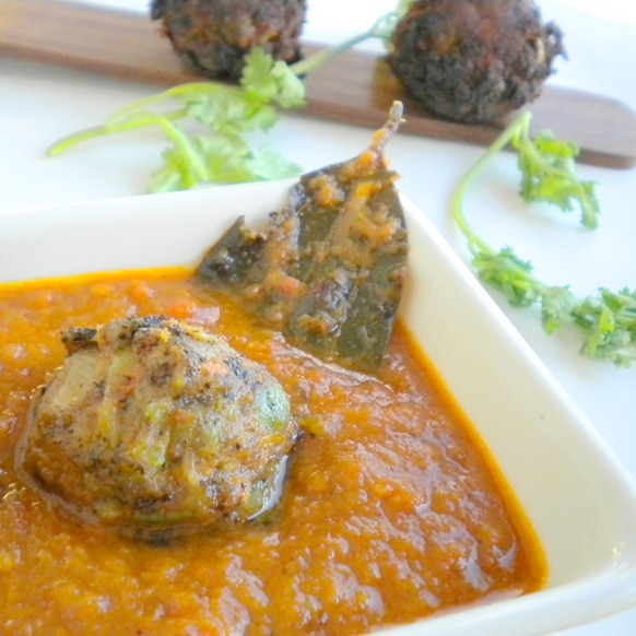 Vegetable Kofta in Muglai Gravy