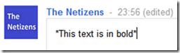 bold text