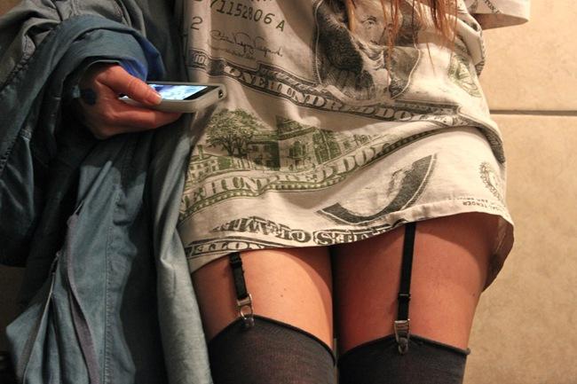 garter belts $100