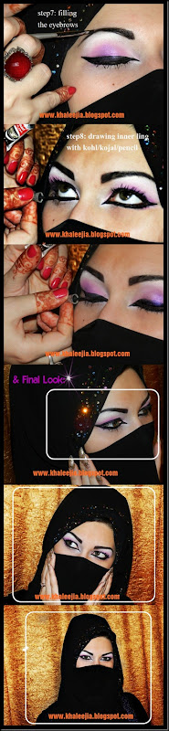 khaleeji makeup tutorial4