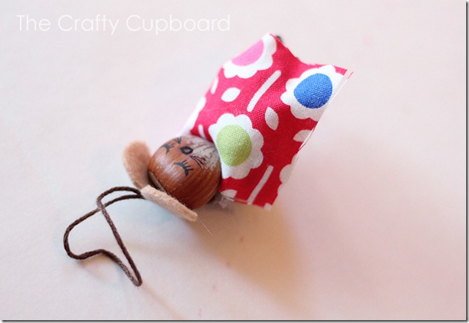 Mouse Ornament by the Crafty Cupboard