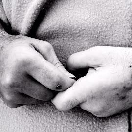Hands of Time by Bridget Wegrzyn - People Body Parts