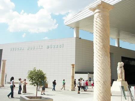 Obiective turistice Anatolia: muzeu Zeugma