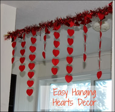 Many Waters Hanging Hearts