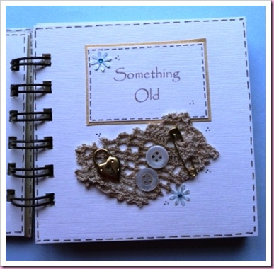 Something Old Bind It All Mini Wedding Book