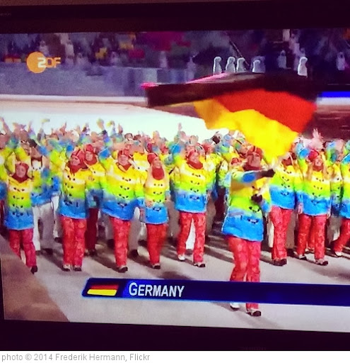 'Watching the opening ceremony of the 'Sochi 2014 Winter Olympics' via @ZDF thx to @SurfEasyInc #olympics #olympics2014 #winterolympics #sochi #germany #vpn' photo (c) 2014, Frederik Hermann - license: http://creativecommons.org/licenses/by-sa/2.0/