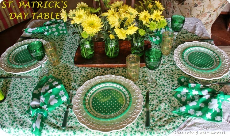 ST PATRICK TABLE