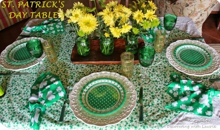 ST PATRICK TABLE