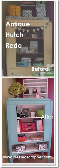 Antique Hutch Redo