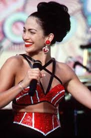 Jennifer as Tejano Singer Selena