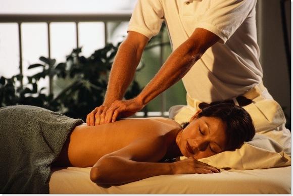 massage at a spa