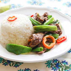 Steak and Scallion Stir Fry