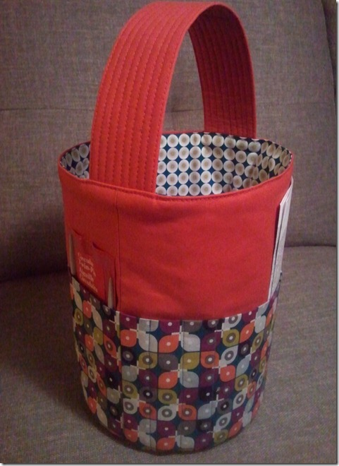 Escapades In Sewing Bucket Bag For Me