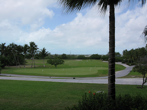 Part of the expansive golf course. Wish we had time to hit the greens!