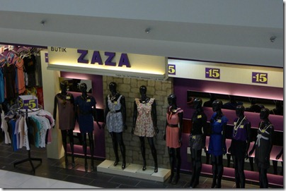 dresses display