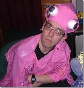 1 disfraz de calamar