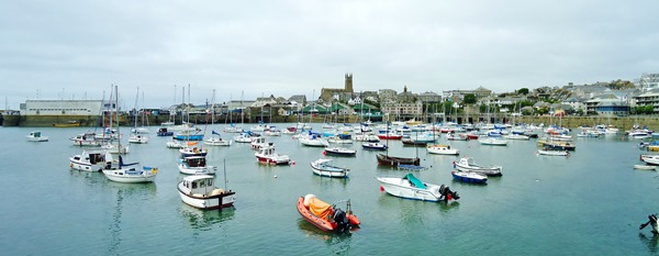 Penzance Harbour stitch