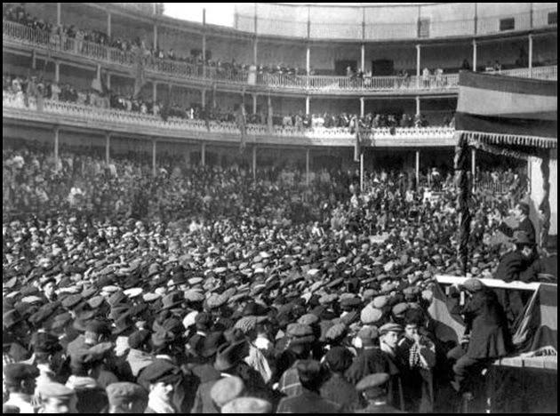 Jai-Alai de 1911. mitin republicano