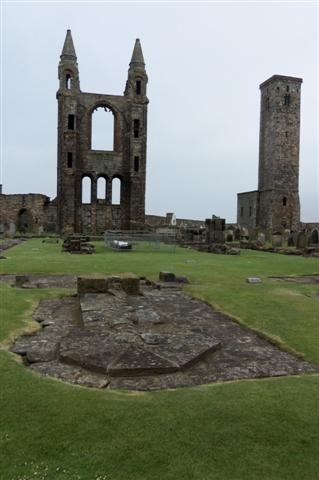 Ruins of St. Andrews Cathedral