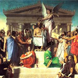 Ingres, Apotheosis of Homer 1827