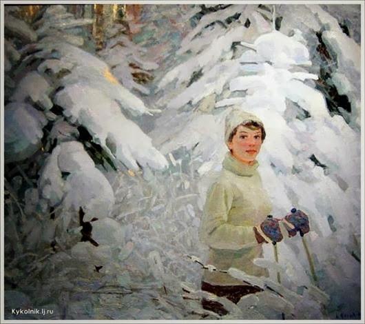 Зима в советском изобразительном искусстве