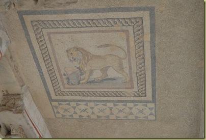 Ephesus House Lion Mosaic