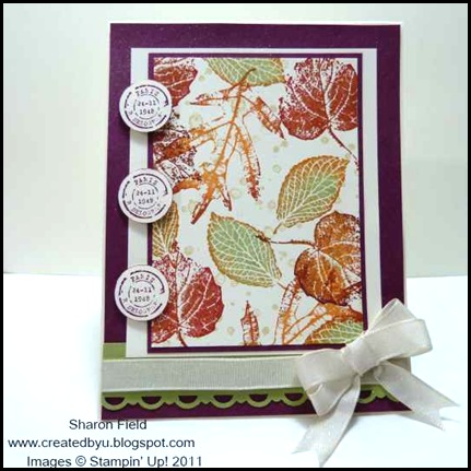 French_Foliage, splitcoast_Stampers, rock_n_roll, technique, creative-sketches, createdbyu_blogspot, fall_Cards, Sharon_Field