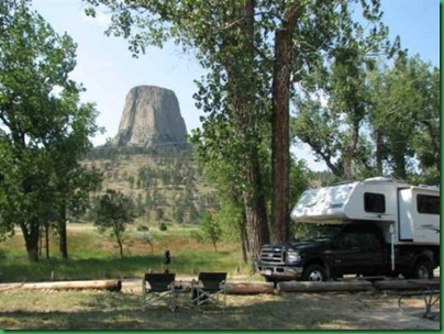 Devils tower campground