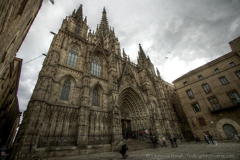 Cathedral Barcelona Gothic Quarter
