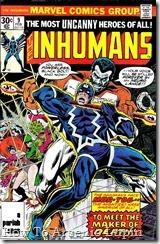 P00011 - Inhumans v1 #9