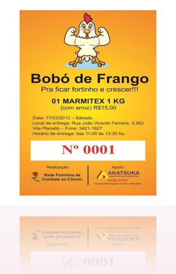 Convite Bobo de Frango