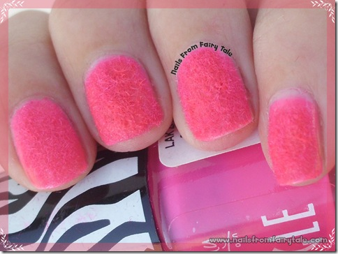 pink flocking powder 4