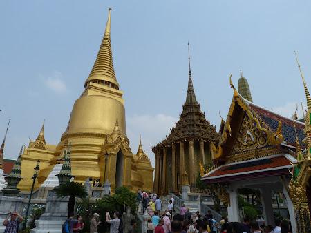 Stupa de aur din Bangkok