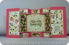 All Abloom Large Square Double Display Card , Amanda Bates at The Craft Spa (5)